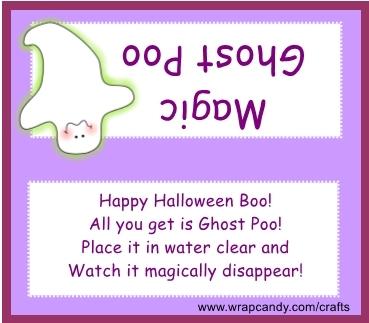 Magic Ghost Poop gift