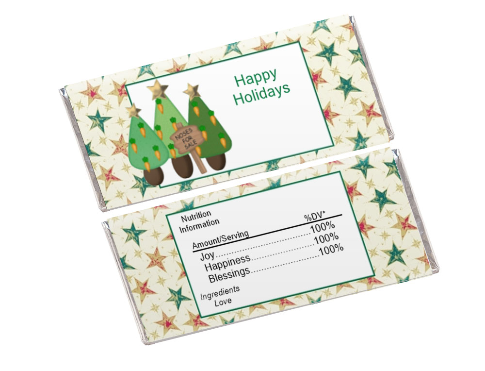 Christmas Tree Candy Wrapper